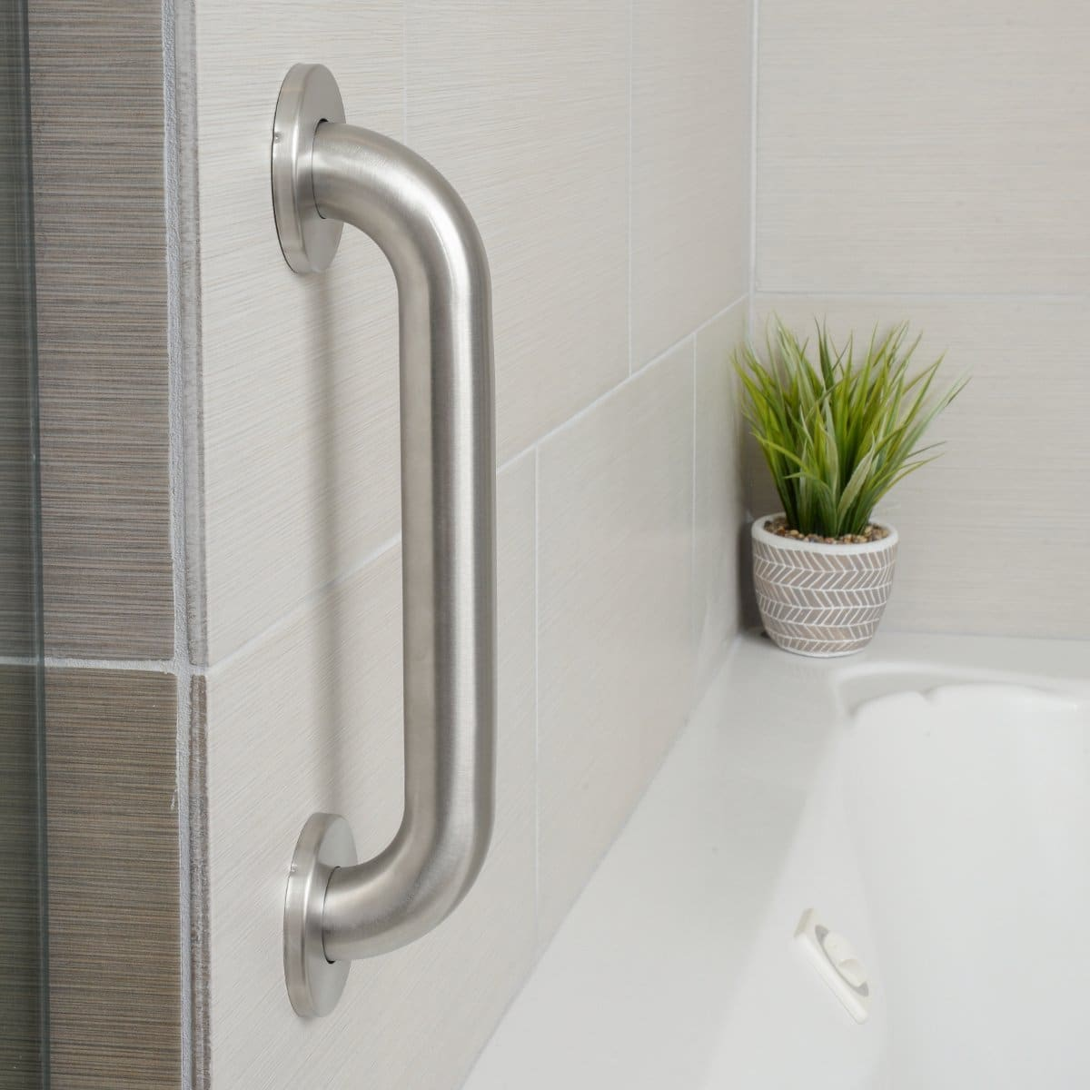 Setup You Can Emble Shower Grab Bars